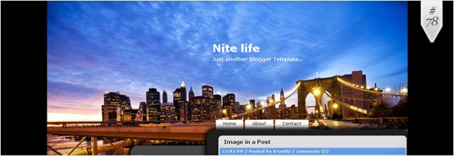 instantShift - Free Blogger Templates