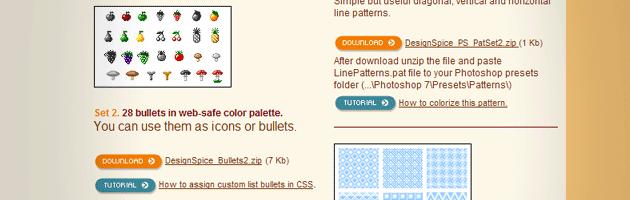 instantShift - Sources for Free Background Patterns