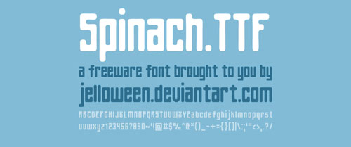 instantShift - More Free Fonts to Enhance Your Designs