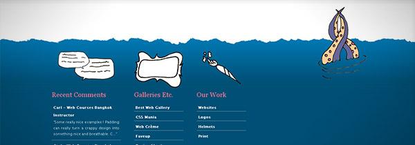instantShift - Perfect Ending of Website Design- Footers