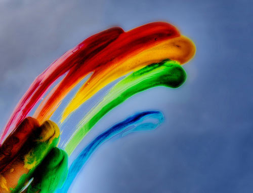 instantShift: Rainbow Colors Inspired Photos and Pictures