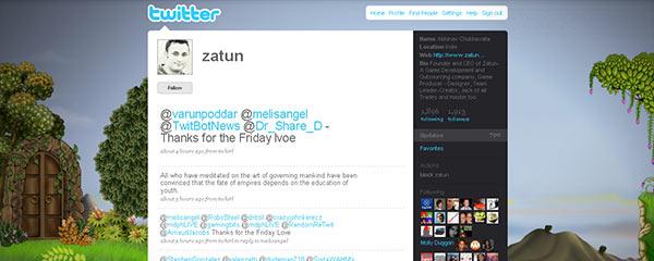 instantShift - Smashing Twitter Themes