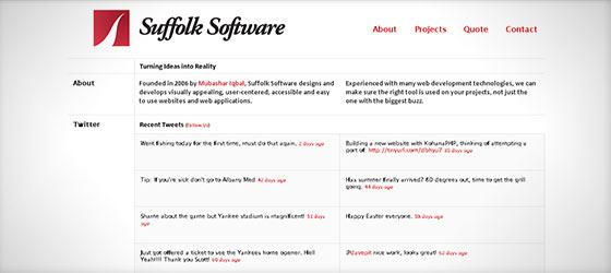 instantShift - Beautiful Single Page Website Designs