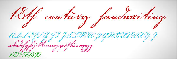instantShift - Free Handwritten Fonts for Web Designers and Logo Artists
