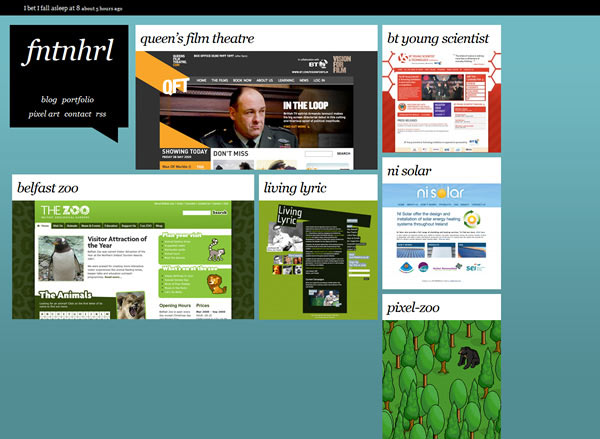 instantShift - Our Work Page Designs