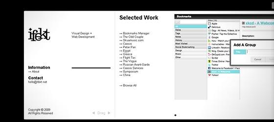instantShift - Single Page Website Designs For Design Inspiration