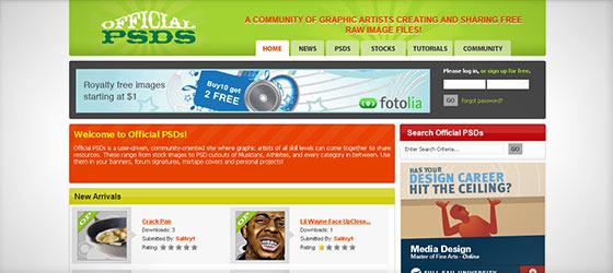 instantShift - Sources for Free Photoshop PSD Stuff