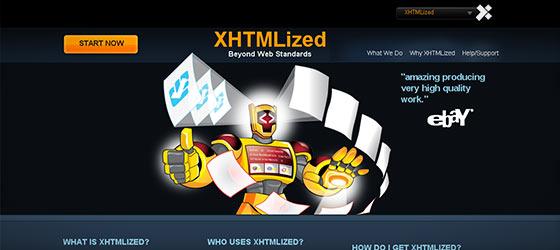 instantShift - Single Page Website Designs