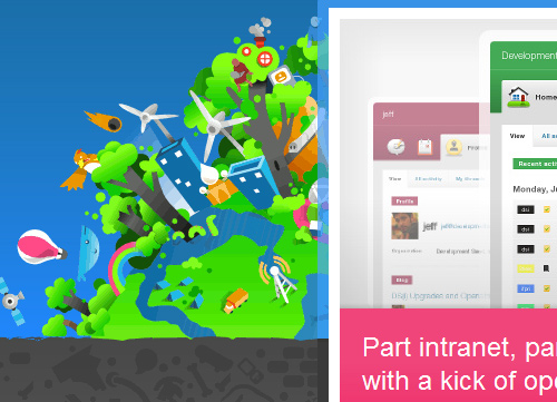 Illustrative Web Design - Background