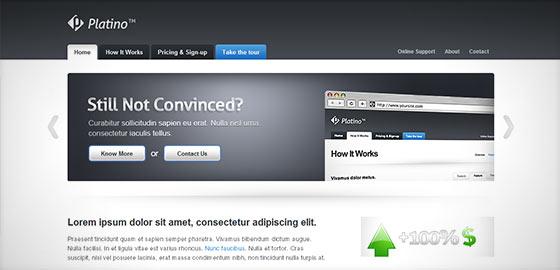instantShift - Inspirational Corporate Website Designs
