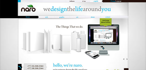 instantShift - Creative And Beautiful Portfolio Designs