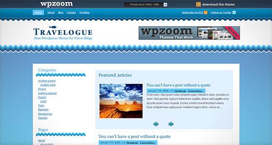 instantShift - Excellent Fresh Free WordPress Themes Around