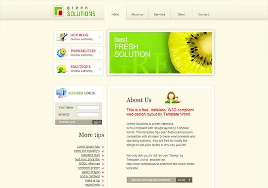 instantShift - Free (X)HTML/CSS Templates
