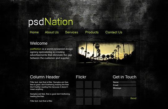 instantShift - Free PSD Website Templates
