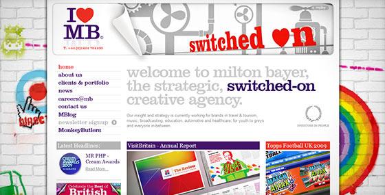 instantShift - Creative and Inspirational Website Designs