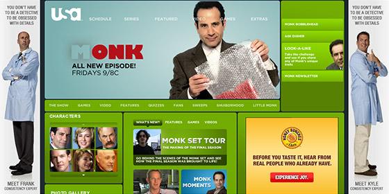 instantShift - Popular TV Show Website Designs