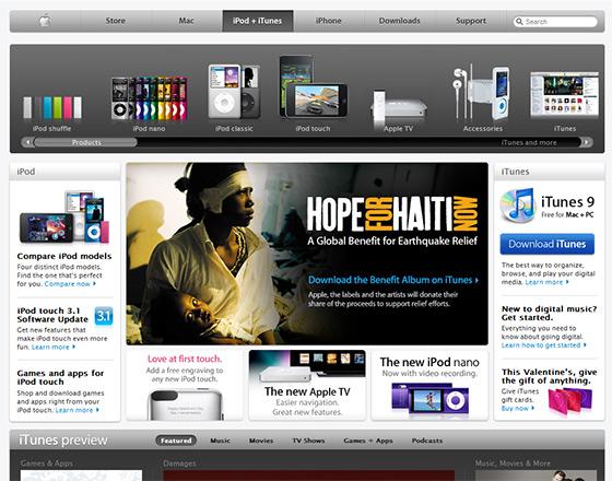 instantShift - Apple.com Design and Features