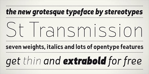 instantShift - Free Fonts for Your Designs