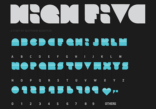 instantShift - Fresh Free Fonts For Your Next Designs