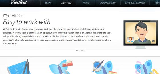 instantShift - Slideshow Presentation in Web Design