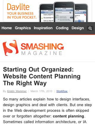 instantShift - Mobile Web Design