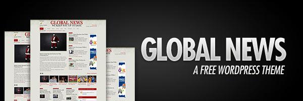 Global News - A Free WordPress News Theme