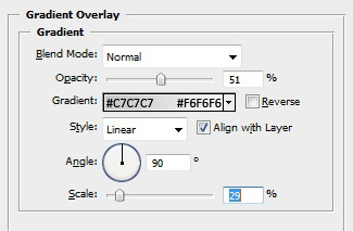 Background - Gradient Overlay Settings