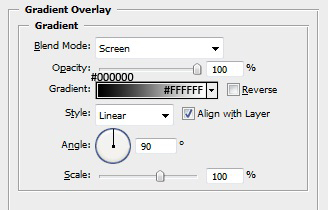 Phone Shape Layer Styles