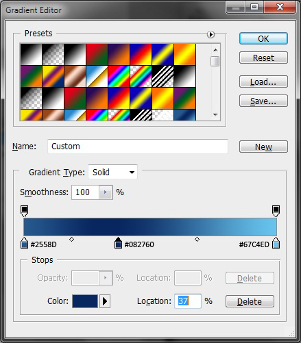 Screen 1 Layer Styles