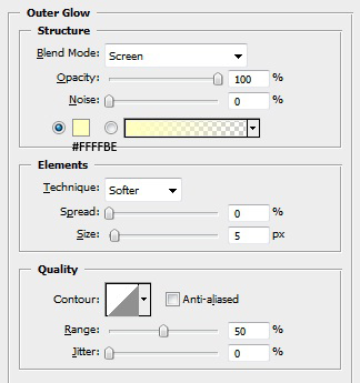 Screen 2 Layer Styles
