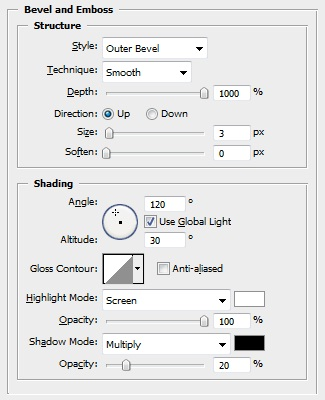 Navigation Dial Shape Layer