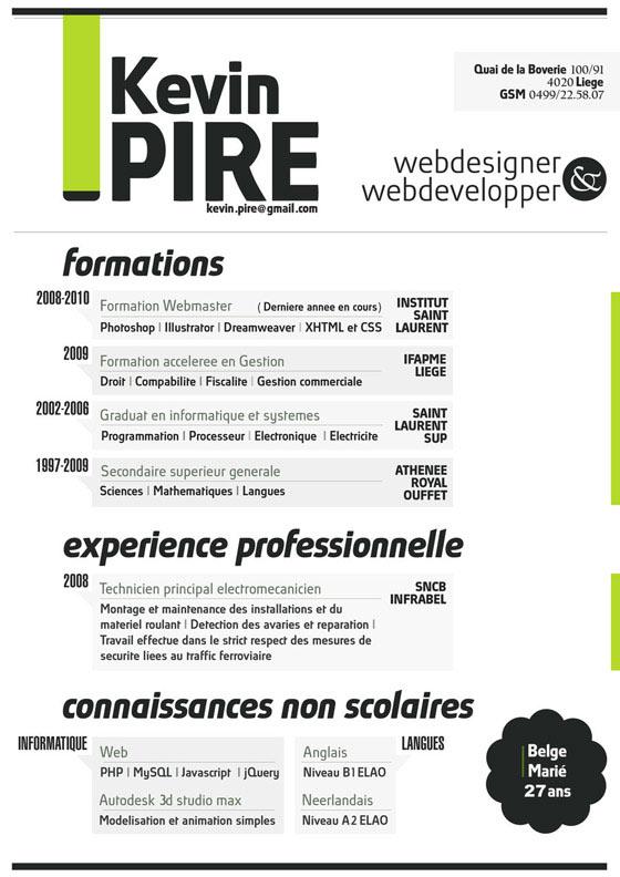 instantShift - Get Creative with Your Resume