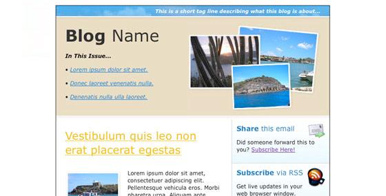 InstantShift - Brilliant HTML Email Newsletter Templates