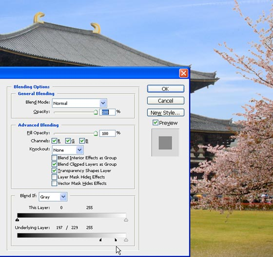 instantShift - Creating an Archive and Blending to Enhance Washed Photos