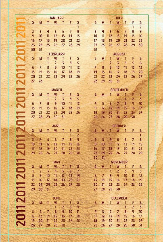 How to Create a Small Business Card Size Calendar