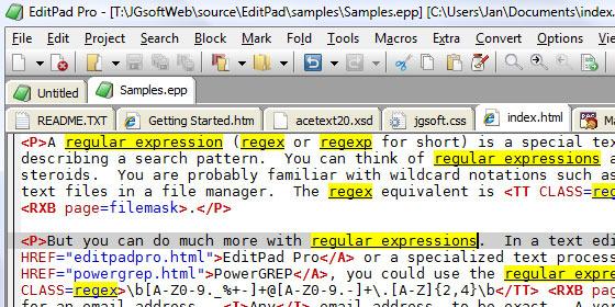 instantShift - Regular Expressions That Makes You an Expert Developer