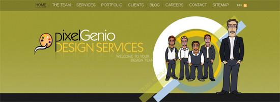 InstantShift - Effective Home Page Design