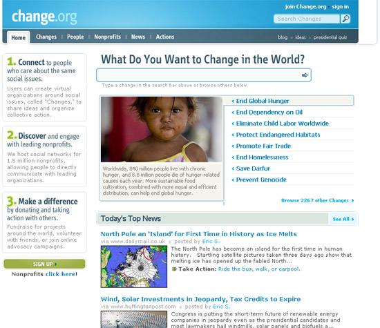 instantShift - Inspirational Website Redesign