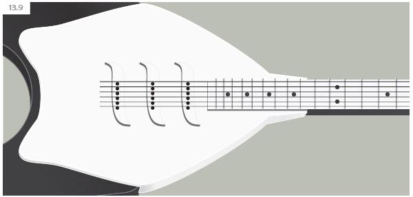 Create A Electric Guitar in Illustrator