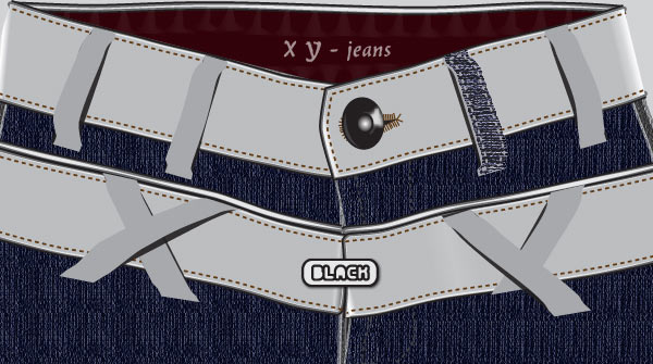 Create A Jeans Vector in Illustrator