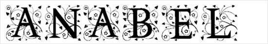 instantShift - Calligraphic Decorative Font - Anabel