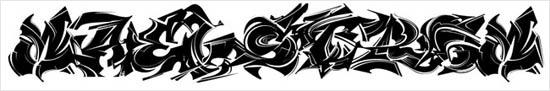 instantShift - Graffiti Decorative Font - Maelstrom