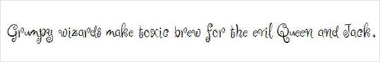 instantShift - Web Font Font - Ruge Boogie