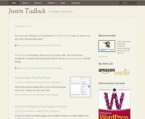instantShift - New High-Quality Free WordPress Themes
