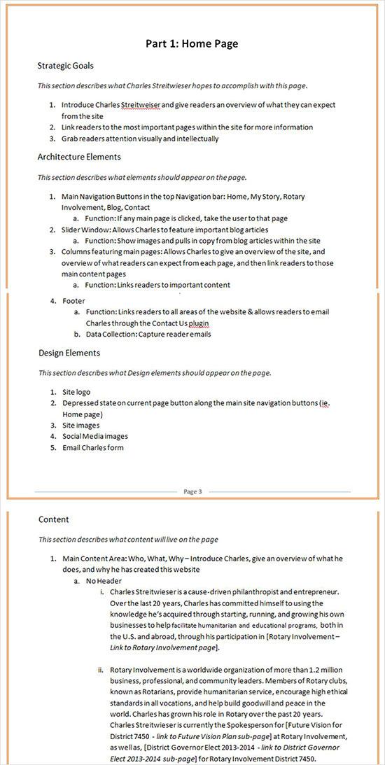 instantShift - Website Planning Spec - Page
