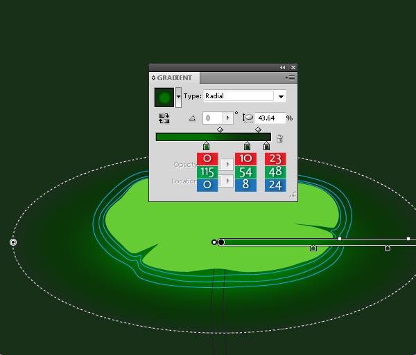 instantShift - Create a main Lotus leaf