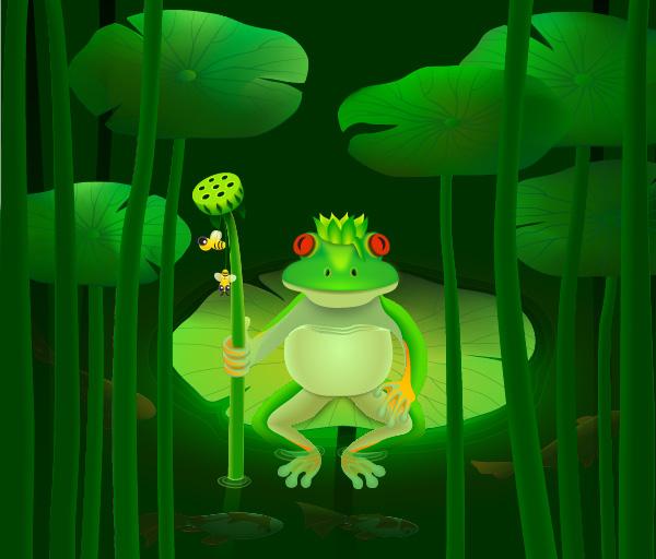 instantShift - Create a Frog Prince in Adobe Illustrator