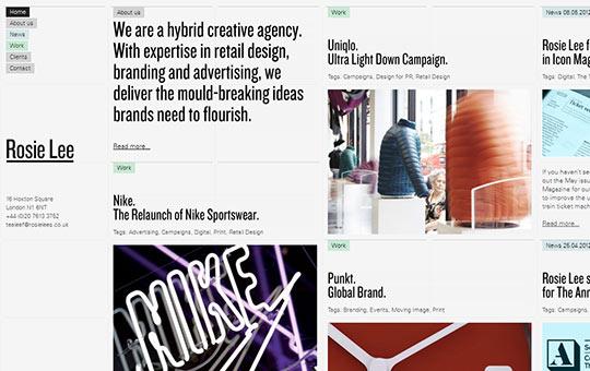 instantShift - Creative CSS3 Website Designs