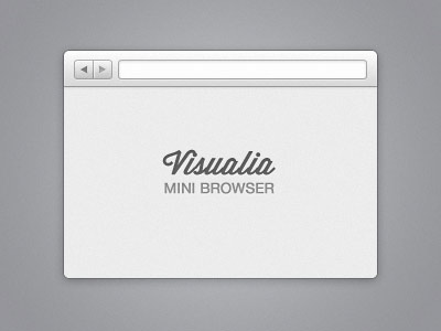 instantShift - Awesome Free Web Browser Frame PSD Templates