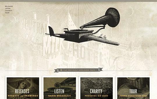 instantShift - Retro Website Designs